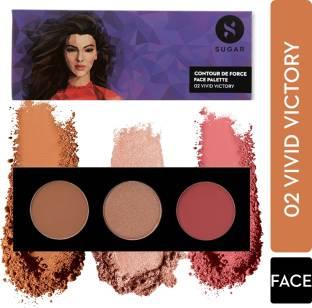 SUGAR Cosmetics Contour De Force Face Palette