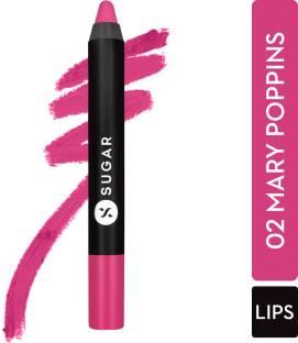 SUGAR Cosmetics Matte As Hell Crayon Lipstick