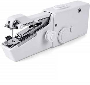 Lusche Portable Mini Stitching Machine Hand Sewing Machine For Home Travel Manual Sewing Machine