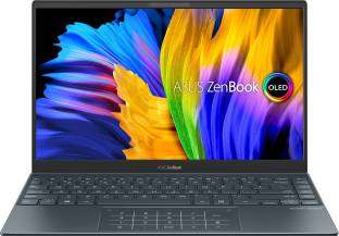 ASUS Zenbook 13 OLED Ryzen 5 Hexa Core 5th Gen - (8 GB/512 GB SSD/Windows 10 Home) UM325UA-KG501TS Thi...