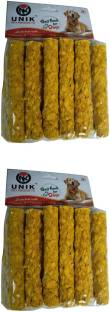 Unik Pack of 2 of chicken kebab 12 pcs each for dogs Chicken 0.4 kg (2x0.2 kg) Dry Adult, Senior, Youn...