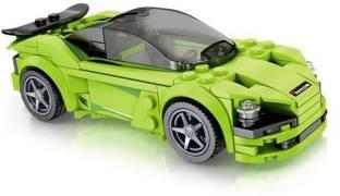 Little Joy 165 PCS Racing Car Model Block Set Construction Learning Toy for Kids