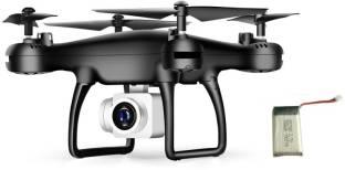 Adhvik HD Camera Black Drone with extra Battery 550 mAh Drone