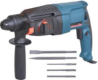 Sauran Reversible Rotary Hammer with 5 Piece Drill Bit (Heavy Duty) Rotary Hammer Drill