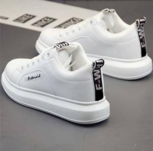 ASTEROID Original Luxury Branded Fashionable Men's Casual Walking Partywear Sneakers Running White Sho...