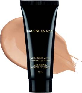 FACES CANADA Weightless Matte Foundation with Grape extracts and Shea Butter Foundation