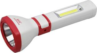 WOZIT Rechargeable 15W Led Torch With Side COB Light Torch