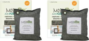 Moso Natural Air Purifying Bag Deodorizer, Odor Eliminator for Kitchens, Living Areas, Bedrooms and Ba...
