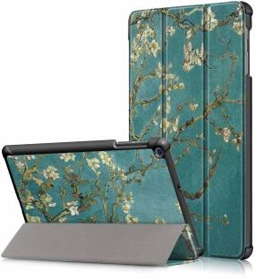 Robustrion Flip Cover for Cover for Samsung Tab A 10.1 Back Cover T510/T515 10.1 inch 2019 - Aqua