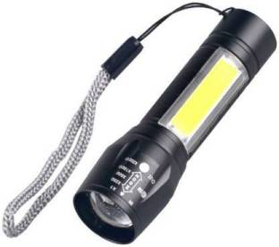 EPONYMOUS Zoomable XPE + COB LED Flashlight, Super Bright LED Torch,Waterproof Flashlight,4 Light Mode...