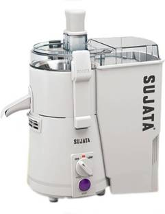 Sujata by SUJATA New Powermatic 900 W Juicer (1 Jar, White)