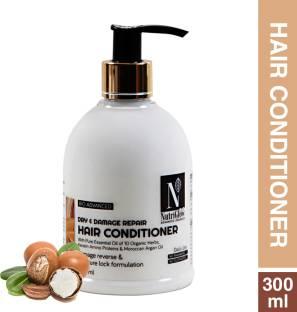 Nutriglow Advanced Organics Bio Advanced Daily Use Dry-damage Repair Hair Conditioner/Argan Oil/No Parabens