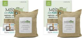 Moso Natural Air Purifying Bag Deodorizer, Odor Eliminator for Kitchens, Living Areas and Basements - ...