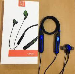 PITCHUP NEW ONEPLUS WIRELESS NECKBAND WITH MIC Bluetooth Headset