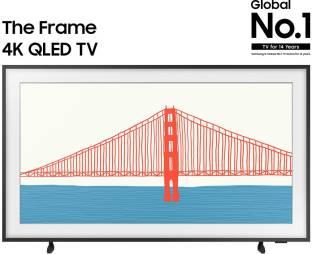 SAMSUNG The Frame 2021 Series 108 cm (43 inch) QLED Ultra HD (4K) Smart TV
