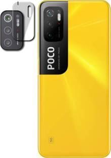 HIRDESH Back Camera Lens Glass Protector for Poco M3 Pro 5G