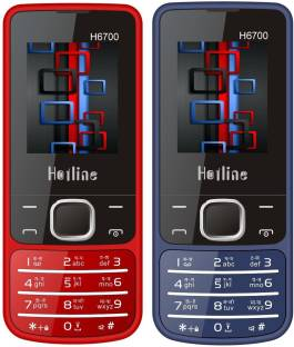 HOTLINE H6700 Combo of Two mobiles