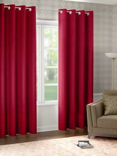 Raymond Home 210 cm (7 ft) Polyester Door Curtain (Pack Of 2)