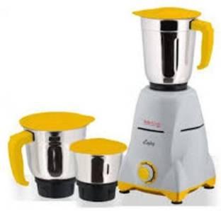 Mccoy 550WADMIRE ADMIRE 550 Mixer Grinder (3 Jars, Yellow)