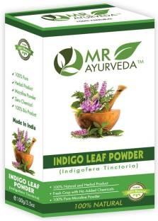 MR Ayurveda 100% Natural Indigo Leaf Powder, Hair Color , Indigo