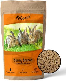 PetVogue Organic Rabbit and Other Small Animal Pellets | Premium Rabbit Food (ISO 9001 Certified) (Pac...