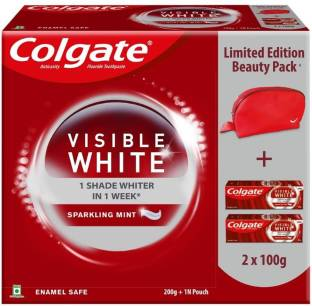 Colgate Visible White Beauty Combo Toothpaste