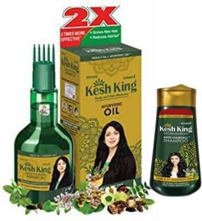Kesh King hair oil (50 ml) and hair fall control shampoo (50 ml)