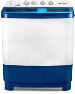 Voltas Beko 8 kg Semi Automatic Top Load Blue