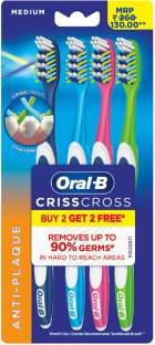Oral-B Criss Cross Medium Toothbrush