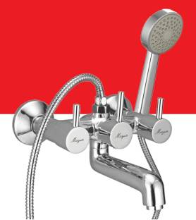 MAYUR OCICH WALL MIXER TELEPHONIC (HEAVY DUTY) WITH HAND SHOWER SET (CLICK SOUND WATER DIVERSION CARTR...