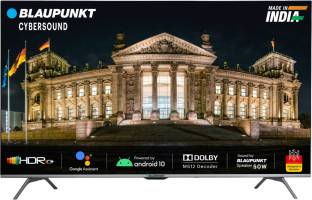 Blaupunkt Cybersound 108 cm (43 inch) Ultra HD (4K) LED Smart Android TV with Dolby MS12 & 50W Speaker...