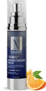 Nutriglow Advanced Organics Derma Repair Face Serum For Repairing Dead Cell  Fine line  Wrinkle Serum   Vitamin C