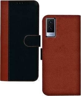 HUPSHY Flip Cover for Vivo V21e 5G