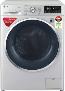 LG 8 kg Fully Automatic Front Load Silver