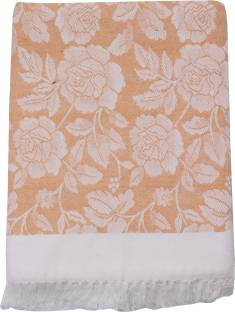 Saagar Tex Floral Double Top Sheet
