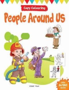 Little Artist Series People Around Us - By Miss & Chief