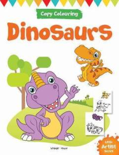 Little Artist Series Dinosaurs - By Miss & Chief