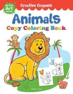 Colouring Book of Animals - By Miss & Chief
