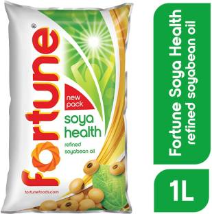 Fortune Refined Soyabean Oil Pouch