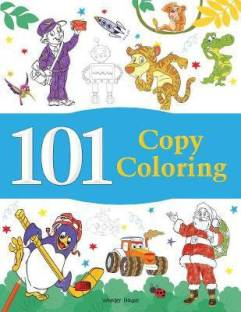101 Copy Coloring - By Miss & Chief 1 Edition