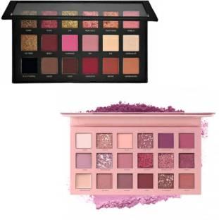 Lyffa Shimmers,Glitters Textured Eyeshadow & New Nude edition Beauty Eye shadow 36 ml