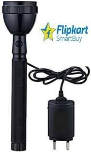 Flipkart SmartBuy New latest long & wide range flashligh high power rechargeable torch..Latest model 8...