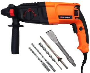 SK ARC SP-226 1200W 26MM Heavy Duty Variable Speed Reversible Rotary Hammer Drill with 3Modes 3Hammers...