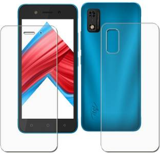 tombik Front and Back Screen Guard for Itel A23 Pro