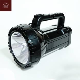 ghar ki khushiya GHARKIKHUSHIYA Portable Rechargeable High Brightness Flashlight LED Torch Light, Sear...