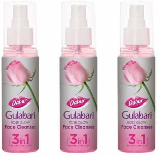Dabur Gulabari Rose Glow face Cleanser : Cleanse , Moisturise , Refresh Makeup Remover