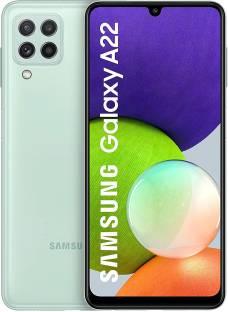 SAMSUNG Galaxy A22 (Mint, 128 GB)
