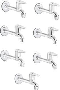 Freshly Stainless Steel Jazz Long body Tap-pack of 7 Bib Tap Faucet
