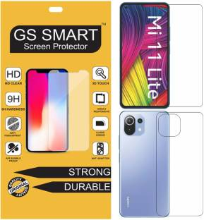 GS Smart Front and Back Tempered Glass for Mi 11 Lite