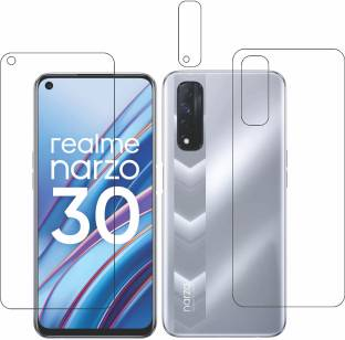 GS Smart Front and Back Tempered Glass for Realme Narzo 30
